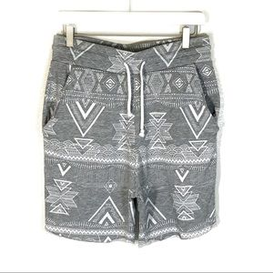 H&M shorts Coachella Official Collection gray S